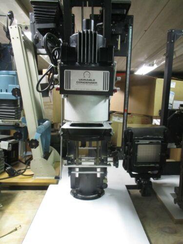 """Omega D2 variable condenser enlarger w/50mm Nikkor lens and  1 5/8"""" sq. carrier"""