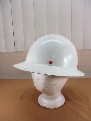 Vintage Welshgard Fiberglass Full Brim Construction Hard Hat Helmet Model Db50