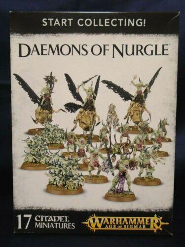Warhammer Age of Sigmar Start Collecting! Daemons of Nurgle