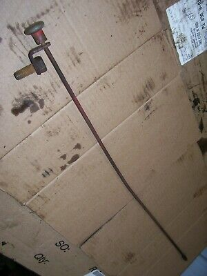 Vintage Ford Naa  Tractor -engine Choke Rod Brkt -1953