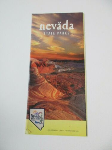 Nevada State Parks Vacation Info Travel Guide Brochure~B11