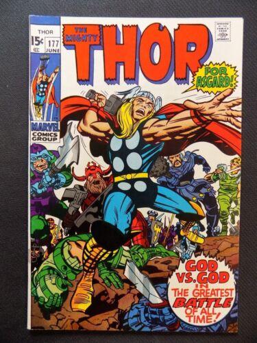 Thor #177 VF+ Marvel Comic 1970