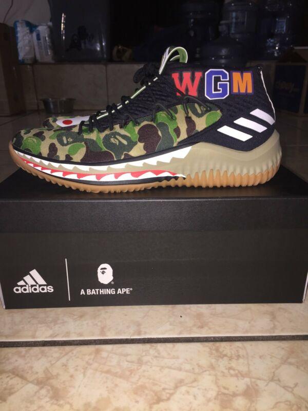 hot sale online c01d4 614ce Adidas Dame 4 Bape