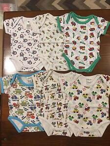 Newborn boy onsies new and as new Heathridge Joondalup Area Preview