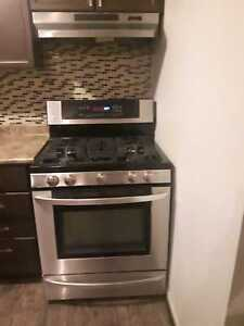 LG Stainless Steel Gas Stove (can deliver)