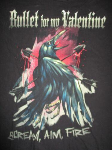 "2008 BULLET FOR MY VALENTINE ""Scream, Aim, Fire"" Concert Tour (LG) T-Shirt"