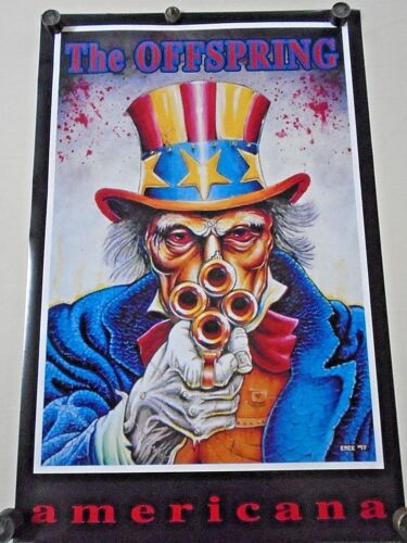 """the Offspring -  Orig. Vintage POSTER """"1999"""" /  Exc. New cond. / 22 x 34""""  #6190"""