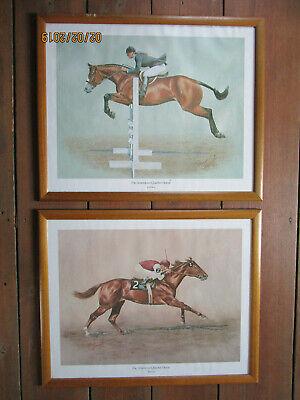 The American Quarterhorse 2 Drucke signiert Randy Steffen,  Pferde gebraucht kaufen  Dahn