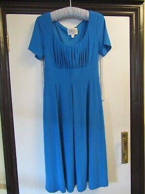 Blue dress by Julian Taylor (New York) Size 12/14 Brand new