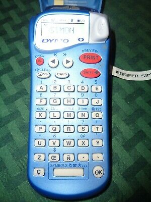 Dymo Letratag Handheld Label Maker For Office Or Home Letra Tag