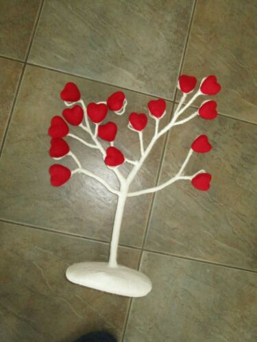 Pottery Barn Kids Valentines Felted Wool Heart Tree Decor With Clips new wo tag