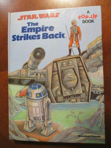 Star Wars The Empire Strikes Back 1980 Pop-Up Book