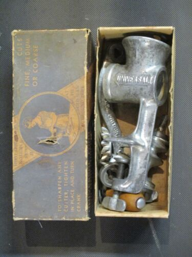 Antique Universal Food and Meat Chopper No. 2