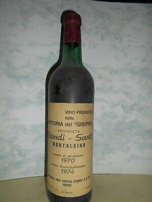 1970 Biondi Santi Fattoria d Greppo Montalcino, Italy