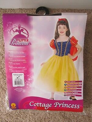 Cottage Princess aka Snow White Halloween Costume Toddler Ages 1-2 Years Old (1 Year Old Girl Halloween Costume)