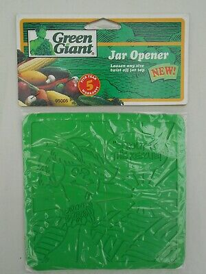 Green Giant Jar Opener Vintage 1994 Sprout to The Rescue