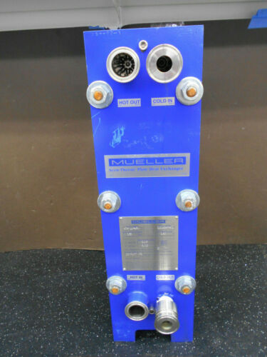 MUELLER AT4-LC-150 ACCU-THERM PLATE HEAT EXCHANGER
