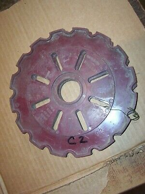 Vintage Ihc Mccormick Farmall Tractor Planter Seed Plates  C2  X 2