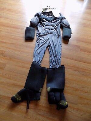 Men's Size Large Batman vs. Superman Muscled Chest Halloween Costume Cape Mask ](Superman Vs Batman Costumes)