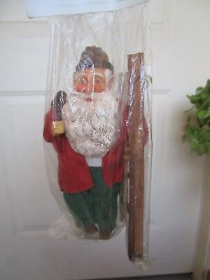 Christmas Elf Outfits (SILVESTRI LRG ELF/GNOME CLOTH OUTFIT & HOLDING LADDLER CHRISTMAS ORNAMENT NIP)