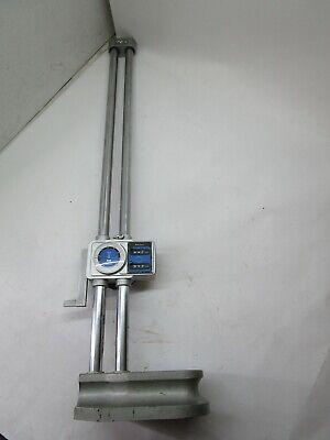 Mitutoyo Dual Column 24 Height Gage W Digital Counter 192-152 Japan T13-whc