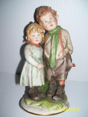 G. Calle Works of Art Italy-Children-Porcelain Figurine 1964