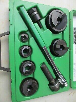 Greenlee Slug Buster Knockout Punch Set 7238sb Used