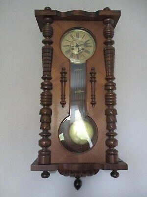 Large German Wall Clock in good working condition. Collection only.