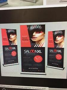 Pull up banners  designed and Printed $120 Wetherill Park Fairfield Area Preview