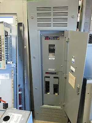 Square D Nqod Panelboard 400 Amp Lal Main Breaker 120208v 30 Circuit- E544