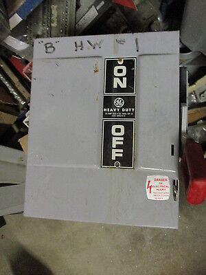Ge Thn2261dc 30 Amp 600 Volt Disconnect Model 7