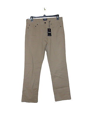 Chaps 5 Pocket Twill Pants 34 X 32 Men (Chaps Twill Pants)