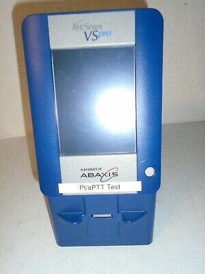 Abaxis Vetscan Vs Pro Model 15100 Veterinary Chemistry Analyzer