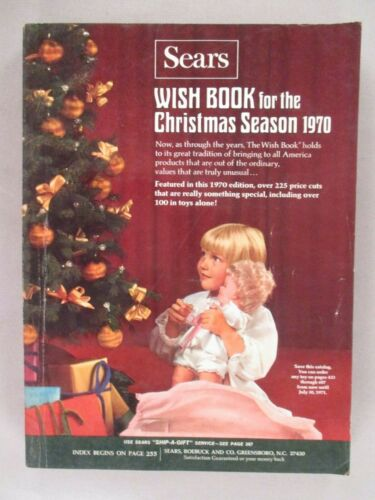Sears CATALOG - Christmas, 1970 ~~ toys, toy, Wishbook, Wish Book