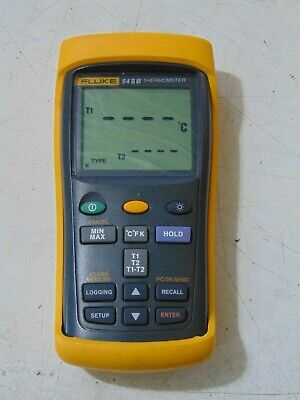 Fluke 54 Ii B Digital Thermometer With Thermocouple Dual Input