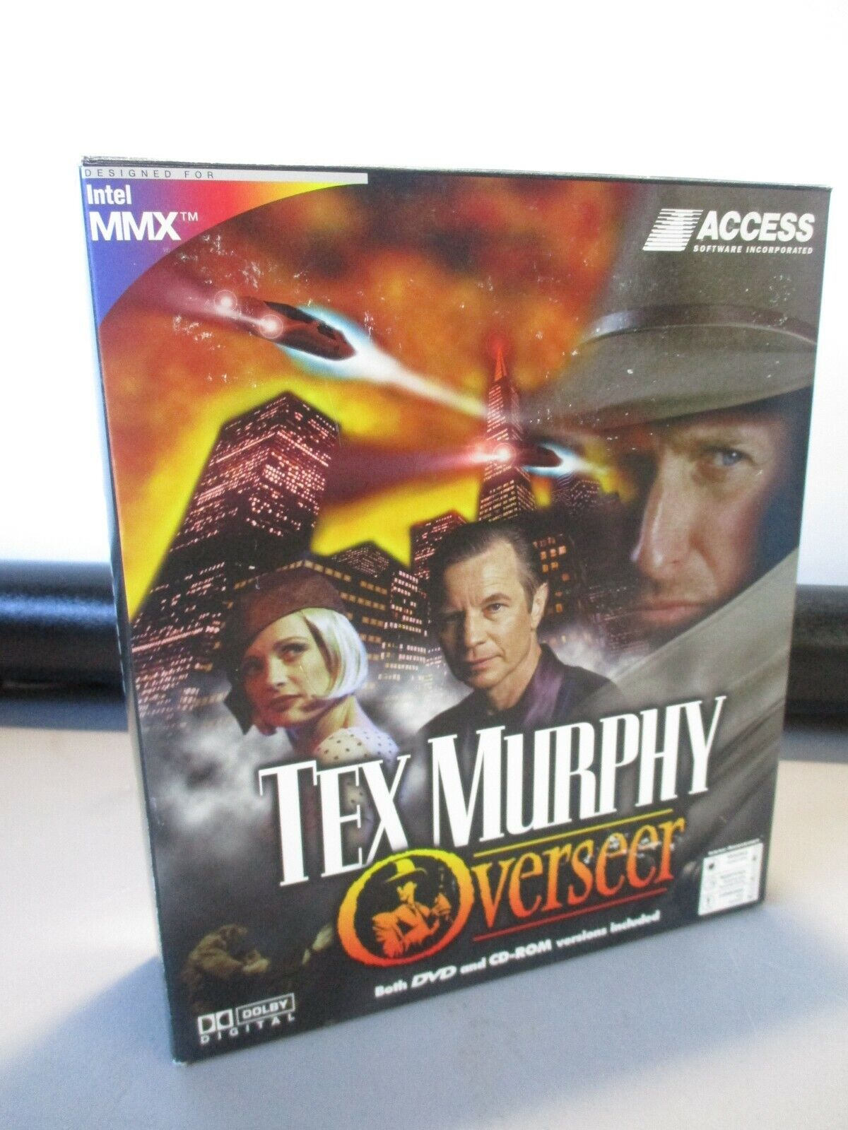 Computer Games - VINTAGE PC COMPUTER GAME CD ROM ACCESS SOFTWARE TEX MURRAY GAME IN BOX