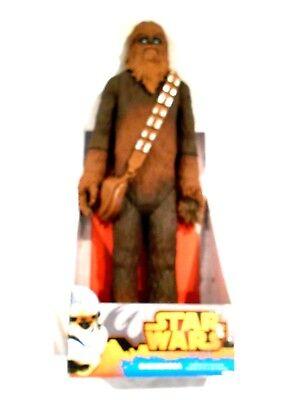 "2014 Jakks Pacific Chewbacca 20"" Action FIgure NIB"