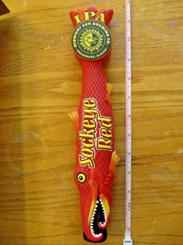 Beer Tap Midnight Sun Sockeye Salmon Handle Brand New in Original Box