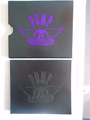 Pump by Aerosmith Ltd. Leather Slipcase