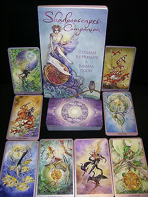 BRAND NEW & SEALED! SHADOWSCAPES TAROT DECK & BOOK ORACLE DIVINATION FANTASY ART