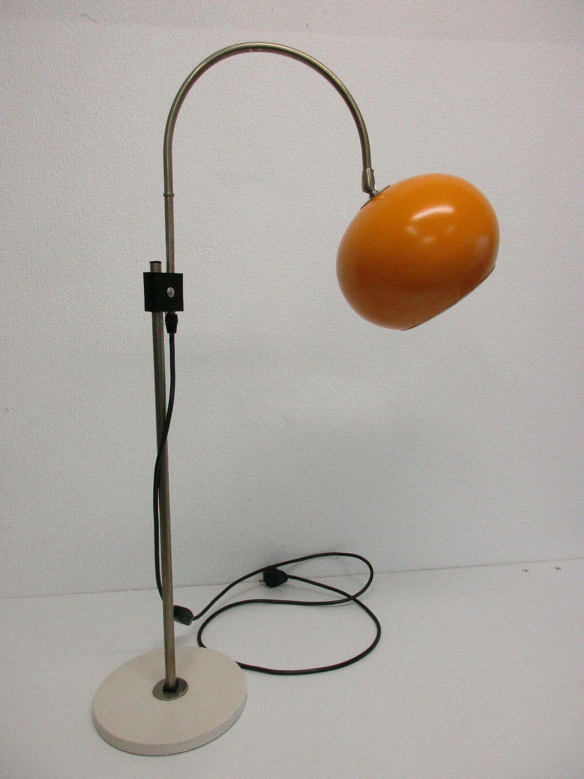 70er Space Age Pfaffle Bogenlampe Lampe Orange