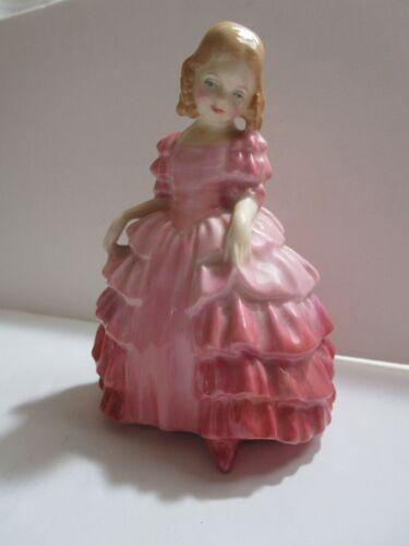 "1942 Royal Doulton Made In England Bone China Figurine HN1368 ""Rose"""