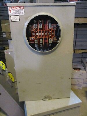Milbank Uc7445 Instrument Transformer Rated Meter Socket W Test Switch