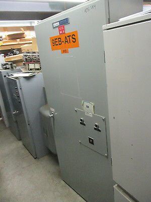 Russ Electric 400 Amp 480 Volt 3 Phase Automatic Transfer Switch- Ats134