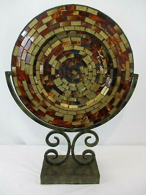 Metal Mosaic Plates - Vintage 14