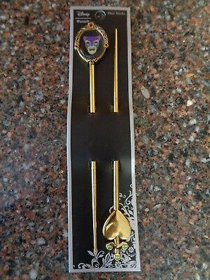 Snow White Magic Mirror Hair Sticks Set 2 Metal Hair Accessories New - Snow White Accessories
