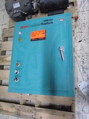 Onan Transfer Switch Otbca70-5du5601e 70a 120240v 3ph 60hz Used