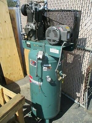 Champion 5hp Vertical Tank Air Compressor Vr5-6as-pictured4serious Buyers Only