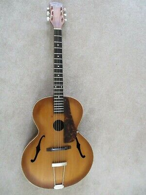 Acoustic Guitar:Vintage 1940s/50s:Abbot-Victor:Hand built:Quality Materials.