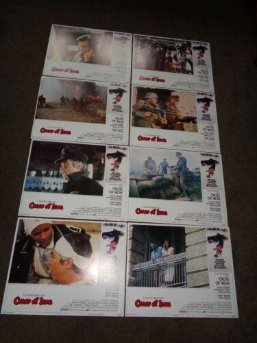 "James Coburn ""Cross of Iron"" 1977 US 14 x 11 inches FOH Set"